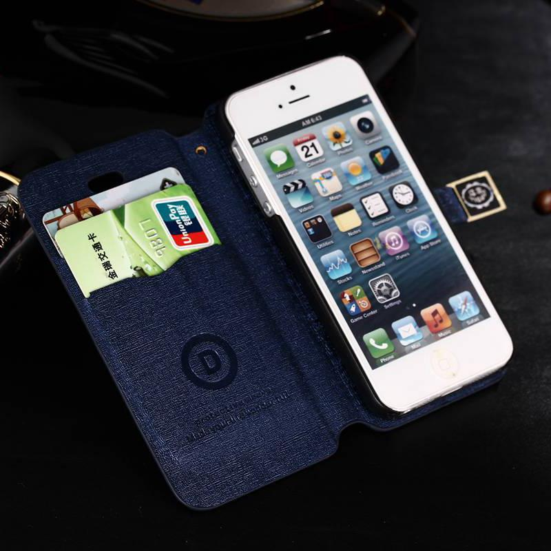 11 Colors Ultra thin slim PU Leather Case for Apple iPhone 4 4S skin ...