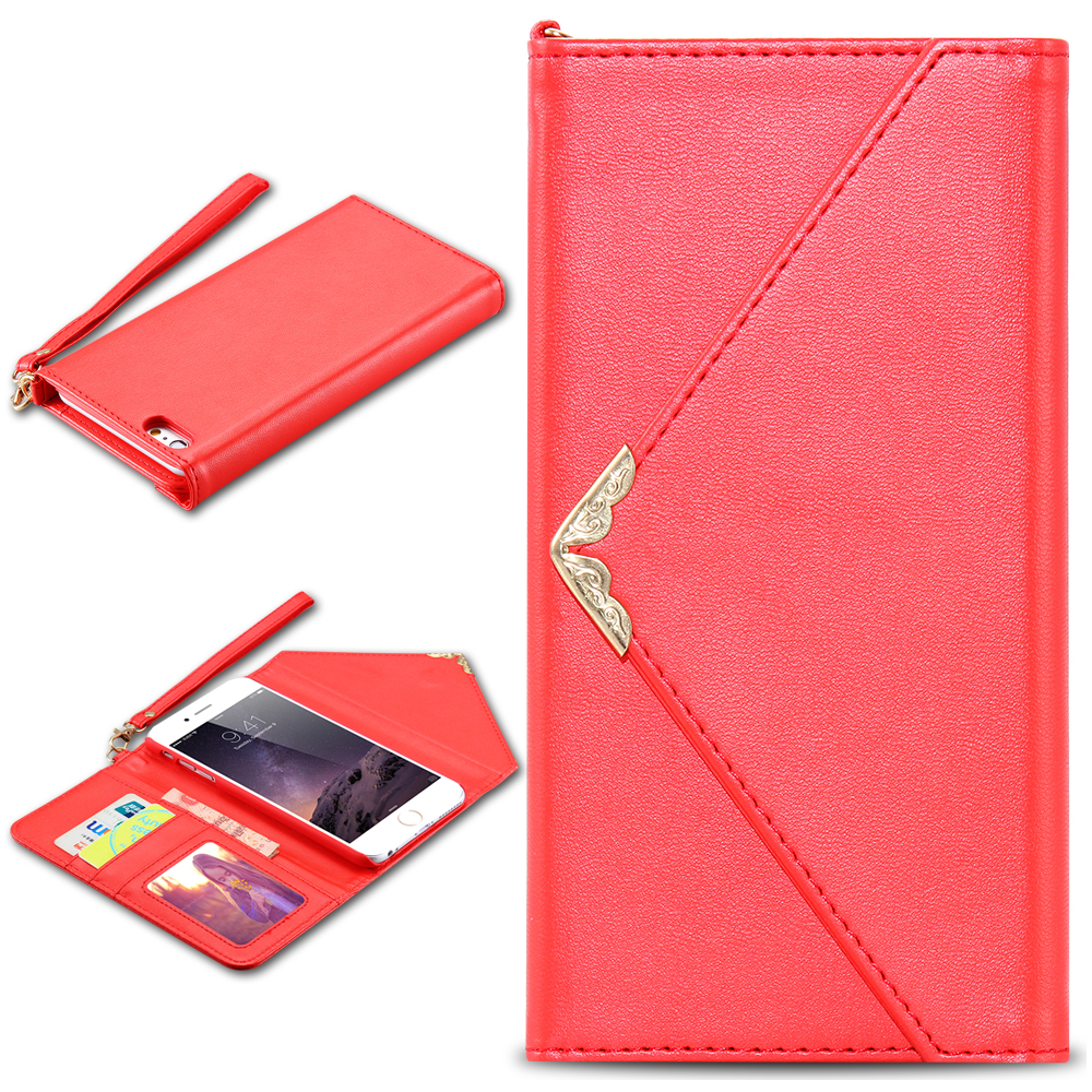 fashion wallet case for iphone 6 plus for iphone 6s plus phonefashion wallet case for iphone 6 plus for iphone 6s plus phone accessories card slot with strap pouch cover for iphone6 plus 5 5